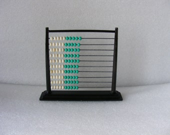 Vintage Abacus,Plastic Abacus, Counting Beads Frame,Children Calculator, Math Counting Tool,Educational Toy