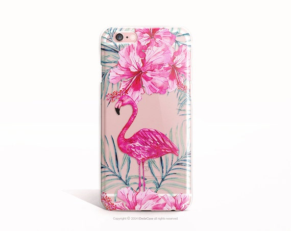Flamingo iPhone 6 Case Clear Rubber iPhone 6 Case Floral iPhone SE Case Clear iPhone 5 Case Clear iPhone 7 Case TPU iPhone 6 Case Clear 57