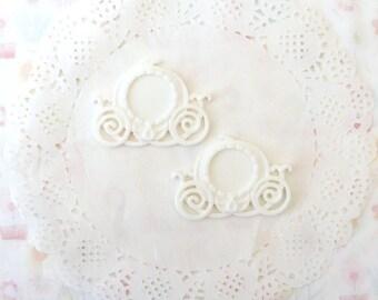 White Cinderella Cameo Setting