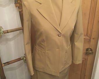 Prada Two Piece Dress & Jacket Vintage Inspired UK Size 10