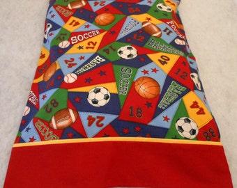 Sports Pillowcase Standard Size Personalization Extra