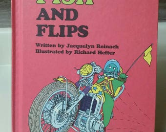 """Weekly Reader Book Sweet Pickles """"Fish and Flips"""" by Jacquelyn Reinach/Vintage 1977 Childrens Book/Nostalgic Gift/Nursery/Kid's Room Decor"""