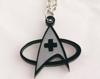 Starfleet Medical necklace