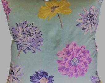 "Designers Guild 'Collerette' in the Aqua Colourway Cushion Pillow Cover 18"" (45cm)"