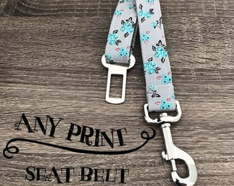 Any Print- Seat Belt