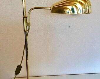 Mid Century Modern Desk Lamp Shell Shade