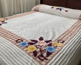 Chenille Bedspread Cutter Crafting Queen Size