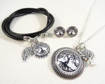"""Jewelry set """"Tree of life"""""""