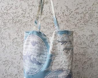 Shoulder Bag World map