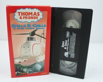 Thomas and Friends - Spills and Chills and Other Thomas Thrills VHS Tape