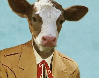 Colton the Cowboy - 8 X 10 Art Print