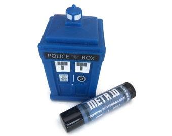 Meta 10 - Vanilla / Rose Flavor Doctor Who Inspired Lip Balm Geek Stix - Meta-Crisis Tenth Doctor - Shimmer