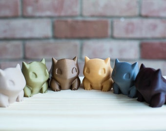 Special Edition- 3D Printed Bulbasaur Planter/ Container/ Home/ Office Decor/Pokemon/ Pocket Animal/ Succulent/ Best Gift/ Valentine's Day