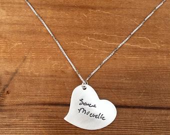 Large Signature Necklace