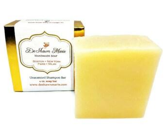 SOAP- Unscented Soap, all natural soap, unscented shampoo bar, unscented shaving soap, unscented beard soap, sensitive skin soap