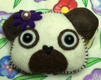 Pug-a-licious Pin