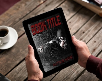 "Premade Ebook Cover ""Fighter"" Fiction Literary Horror GrimDark Thriller Suspense"