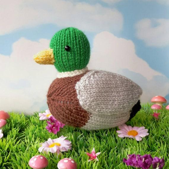 Beneduck Cumberquack Mallard Duck Knitting Pattern Great