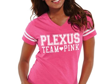 Plexus Team Pink Football Tee 78047JH