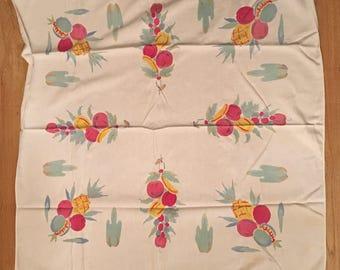 Vintage 1950's Tablecloth