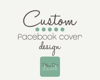 Facebook cover Custom One of a kind OOAK design