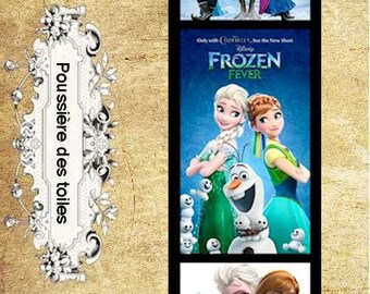 The snow Queen bookmark