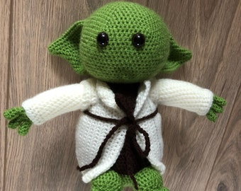 Yoda Crochet Doll