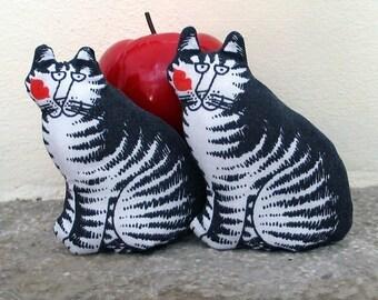 Two Catnip Tiger Cat Toys  Homegrown Nip