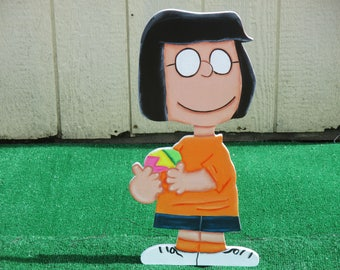 Peanuts Marci Easter Yard Sign