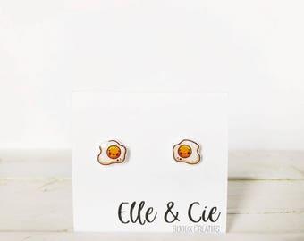 Eggs, Eggs Earrings earrings