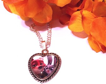 Zootopia Heart Pendant Necklace
