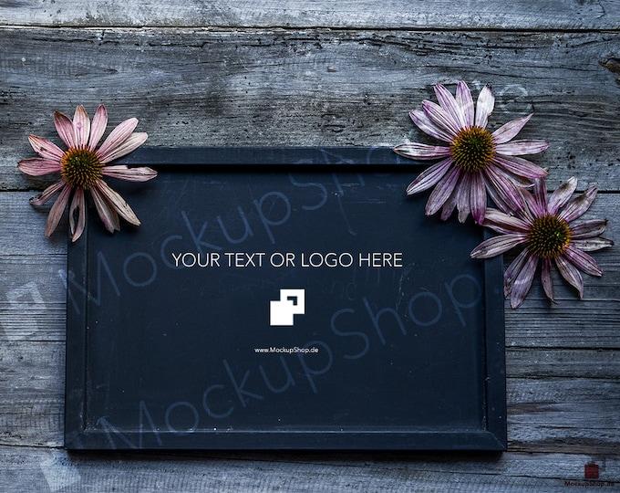 STOCK PHOTO AUTUMN // dark  shabby wooden // autumn pink flowers // dark wood panel // Autumn Mockup // Autumn Stock photography // Autumn