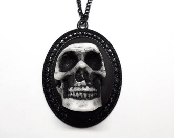 3D Skull Necklace Pendant