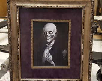 Frightful Frame, Silver-gold and purple