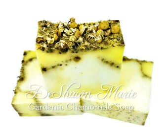 SOAP Gardenia Chamomile Soap Loaf,  Soap Loaf, Wholesale Soap, Wholesale Soap Loaves, Vegan Soap, Handmade Soap, Christmas Gift,Soap Gift