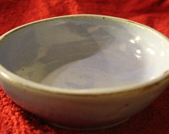 Shallow Periwinkle Bowl