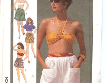 Simplicity 7519  Misses' Shorts in two Lengths  ID284