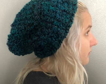 Slouch Hat, Slouchy Beanie, Womans men & Teen Hat                                                                          Free Shipping