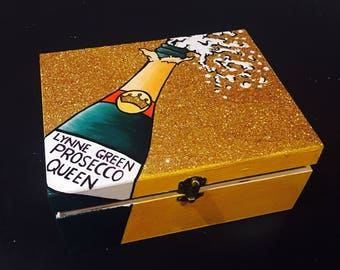 Large glitter gift boxes