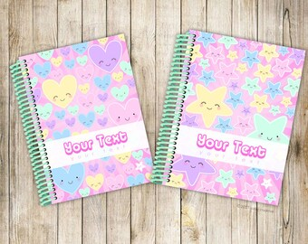 My Fancypants Notebook: Cutie collection (Handmade personalised notebook)