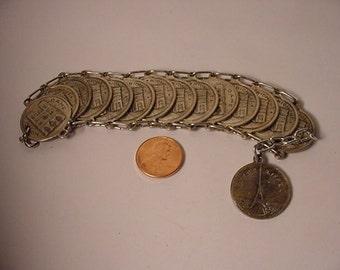 Parisian Coin Bracelet