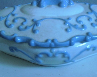 White Glazed Porcelain Dish