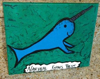 Narwal Painting