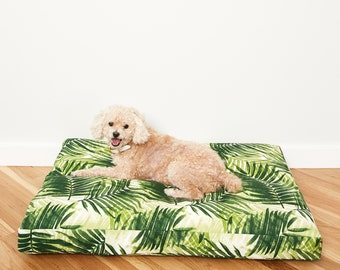 Fern Frond Dog Bed // Quick Ship // Large