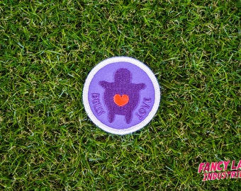 Belly Love - Girth Guides patch for fat activists, Fat Activism, Fat Acceptance, Fat Liberation, Body Positive