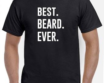 Meilleur barbe jamais barbe chemise cadeau pour un homme barbu