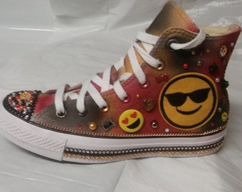 Emoji Converse shoes
