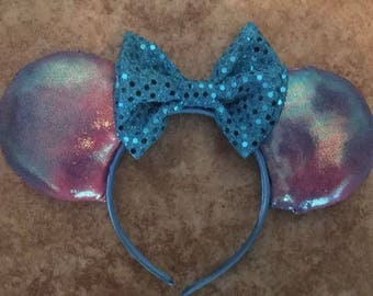 Cotton Candy inspired Minnie Ears