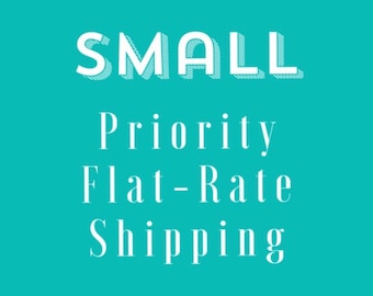 Add on Small Flat Rate Shipping