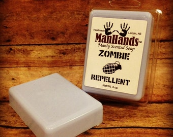 Zombie Repellent Scented Soap 3 oz. Bar